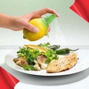 Lemon Juice Sprayer Citrus Spray Hand Fruit Juicer Mini Squeezer