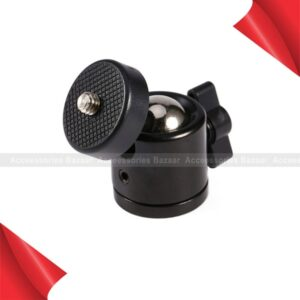 Mini Bracket Holder Ball Head Mount 360 Degree Tripod Use