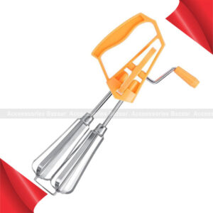 Hand Whisk Egg Beater Milk Frother Foamer Maker For Kitchen