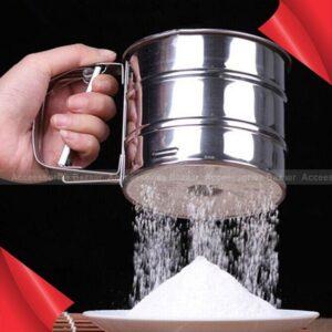 Multifunctional Stainless Steel Handheld Food Grade Flour Sieve