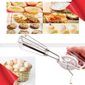 Hand Whisk Egg Beater Milk Frother Foamer Maker For Kitchen