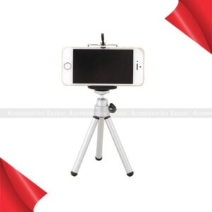 Mini Flexible Projector Tripod Stand Bracket Aluminum Alloy