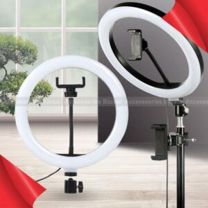 26cm Camera Phone Photography LED Ring Light USB Fill Lamp