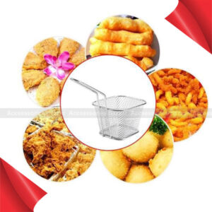 Fry Baskets Stainless Steel Strainer Food Presentation Cooking Tool