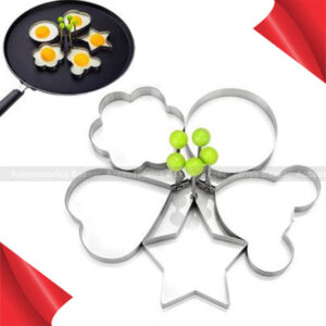 Stainless Steel Cute Shaped Fried Egg Mold Pancake Rings Mold Kitchen Tools