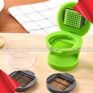 Kitchen Pressing Vegetable Onion Garlic Food Slicer Chopper