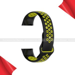 Silicone Porous Soft Silicone Sports Wrist Watch Band Strap