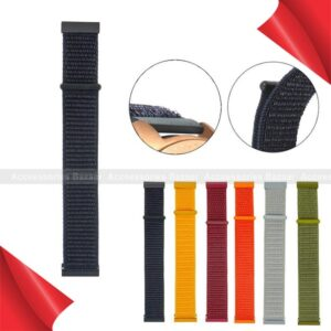 Nylon Watch Straps Sport Loop Soft breathable double layer