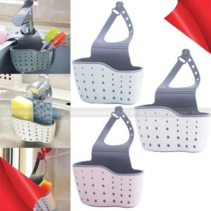 Kitchen Drain Holder Sponge Storage Wash Bathroom Soap Shelf