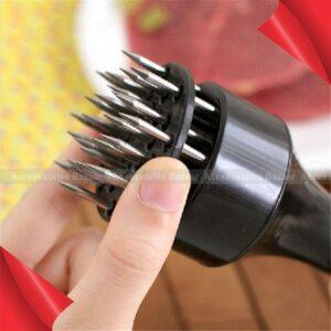 Meat Tenderizer Needle Stainless Steel Steak Cooking Kitchen Tool