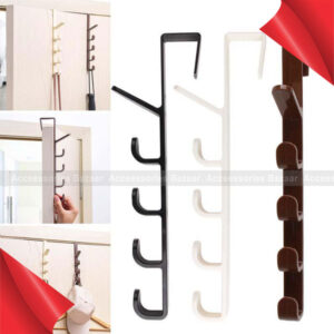 Hanging Rack Holder Hook Towel For Cupboard Door Kitchen Cabinet