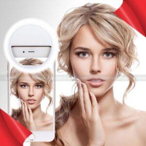 Universal Selfie LED Ring Flash Light Portable Mobile Phone