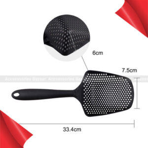 Scoop Strainer Colander Tools Spoon Drainer Large Nylon Soup