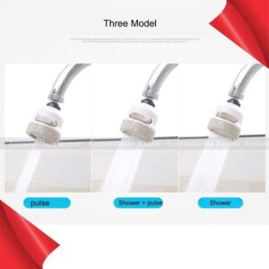 360 Degree Kitchen Tap Head Rotating Faucet Water Saving Filter