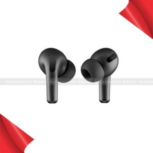 AirPods Pro Black 5.0 Pro Active Noise Cancellation Earbuds