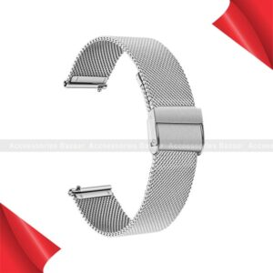 Stainless Steel Wrist Strap for Samsung Garmin Smart Watch