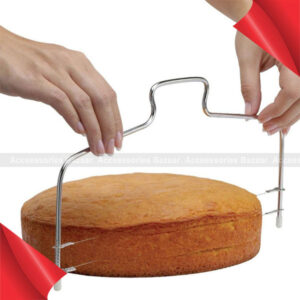 Adjustable Wire Cake Slicer Leveler Pizza Dough Cutter Trimmer Tools Accessories