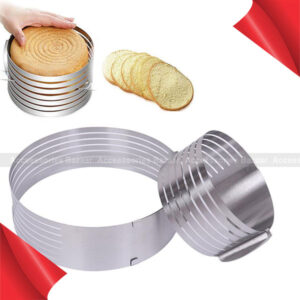 Round Slice Mousse Ring Cake Ring Stainless Steel Cake Slicer Baking Mold