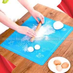 Non-Stick Silicon Reusable Pastry Fondant Dough roti chapati Rolling Baking Sheet mat