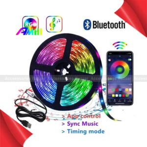 LED Strip USB Power Bluetooth APP Remote Music Control LED Strip Lights