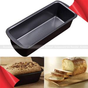 Black Carbon Steel Mold Cake Bread Baking Pan Non-Stick Convenient Kitchen