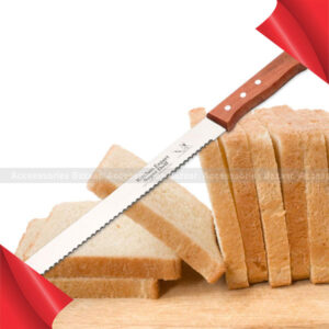 Cake Cheese and Bread Knife Slicer Stainless Steel Serrated