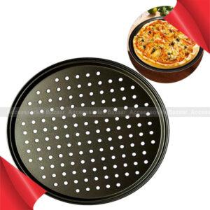Pizza Baking Pan Stainless Steel Non-stick Mesh Plate Bake ware Baking Tool