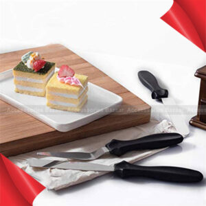3 Pcs Angled Straight Triangle Icing Spatula multipurpose use