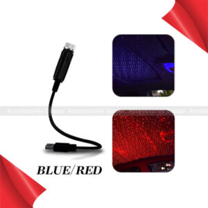 Car Projection Lamp Atmosphere Lamp USB Car Roof Star Light