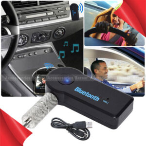 Bluetooth Audio Receiver Aux Wireless Multiple Use