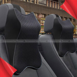 Car Neck Pillow Head Rest Soft Breathable Seat Headrest Pad Neck Rest