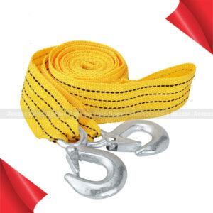 Tons Car Tow Cable Nylon Strap Rope Towing Pull Rope