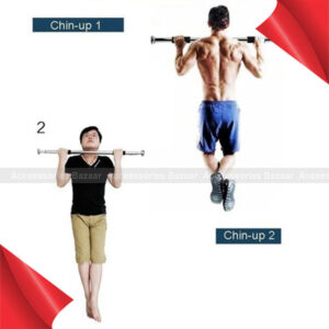 Bearing 100kg Door Frame Gym Wall Fitness Equipment  Bar Chin Up Bar Pull up