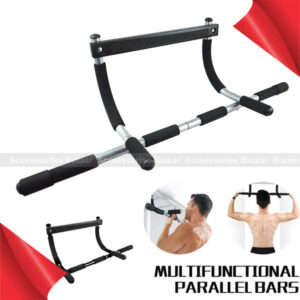 Multi-Grip Pull-Up Bar Indoor Doorway Trainer Horizontal Bar Home Gym Workout