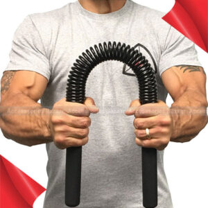 Power Twister Bar for Upper Body and Arm strength wrists, chest and shoulders