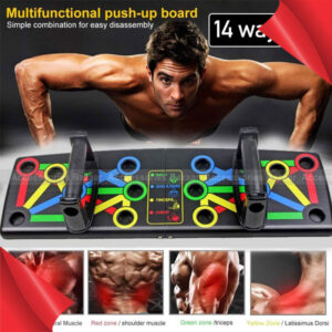 14 Ways In 1 Push Up Board Body Building Multifunctional Workout