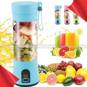 Rechargeable Mini Portable Fruit Juicer Handheld Smoothie Maker Blender