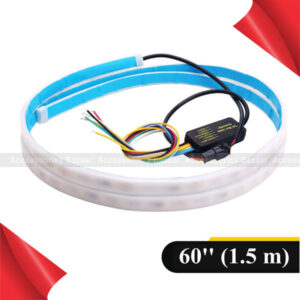 Car Led Strip Trunk Tail Brake Turn Signal Lights Ice Blue Red Yellow White
