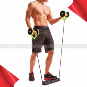 Power Roll AB Trainer Waist Slim Exercise Core Double Wheel Fitness