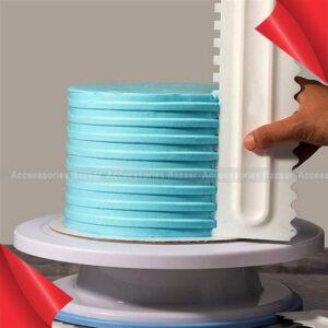 Cake Decorating Comb Cake Scraper Pastry Cake Edge Baking Mold Tools