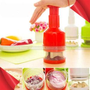 Vegetable Chopper Onion Garlic Food Pressing Cutter Slicer Peeler Dicer