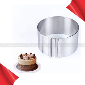 Bakeware Decorating Cutter Adjustable Cookie Mold Round Circle Cake