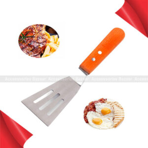 Steel Pizza Leaky Stainless Steak Shovel Cutter Cheese Slicer Spatula