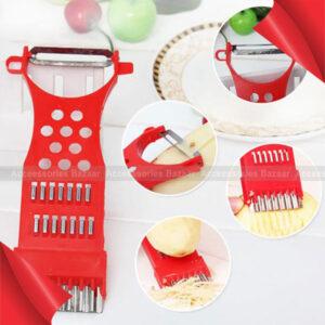 Multifunctional Potato Scraper Peeler Food Vegetable Cutter