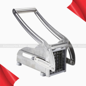 Sainless Steel Potato Chip Making Tool Home Manual French Fries Slicer Cutter Machine