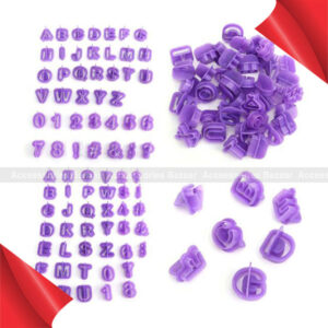 40 Pcs Icing Cutter Mold Alphabet Letter Fondant Cake DIY Decorating Mold Set