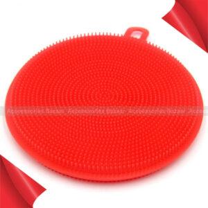 Multiple Use Sponge Dish washing Scrubber Soft Silicone