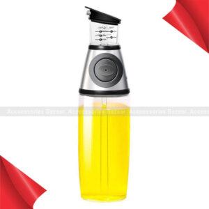500ml Kitchen Glass Measuring Olive Oil Bottle Pourer Vinegar Dressing