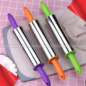 Fondant Plastic Round Handle Pizza Baking Tools Rolling Pin Dough Roller