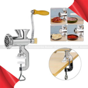Aluminium Alloy Multi-use Meat Mincer Hand Meat Grinder Noodles